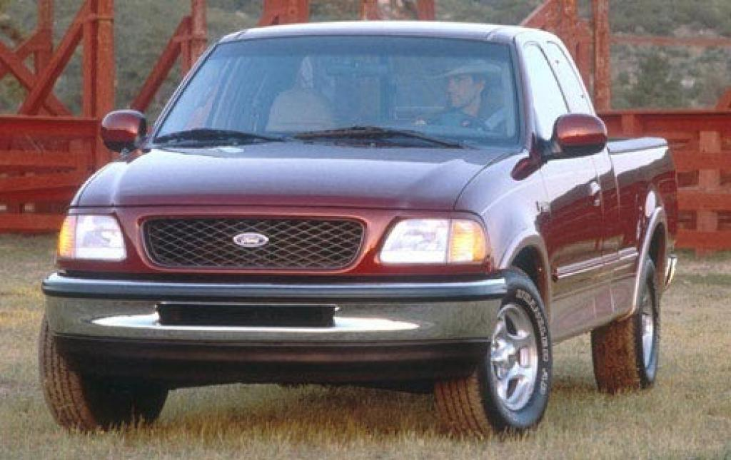 1997 ford f 150 information and photos zombiedrive. Black Bedroom Furniture Sets. Home Design Ideas