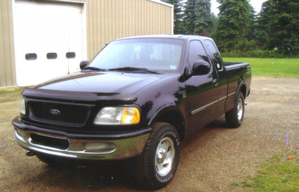 1998 ford f 150 information and photos zombiedrive. Black Bedroom Furniture Sets. Home Design Ideas