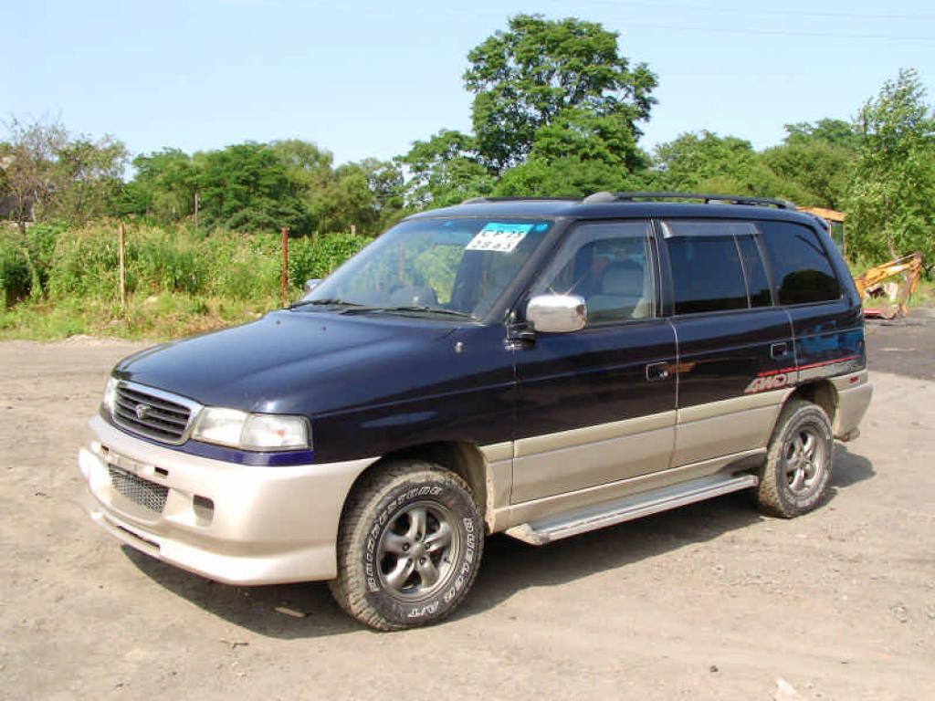1998 Mazda Mpv - Information And Photos