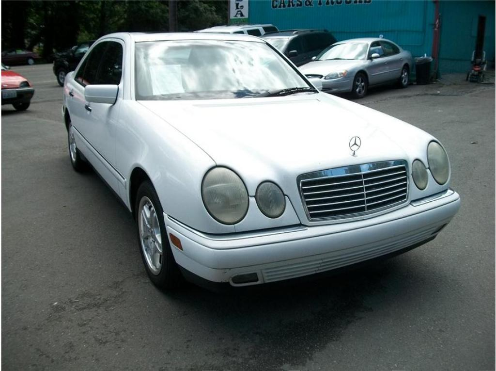 1998 mercedes benz e class information and photos for Facts about mercedes benz