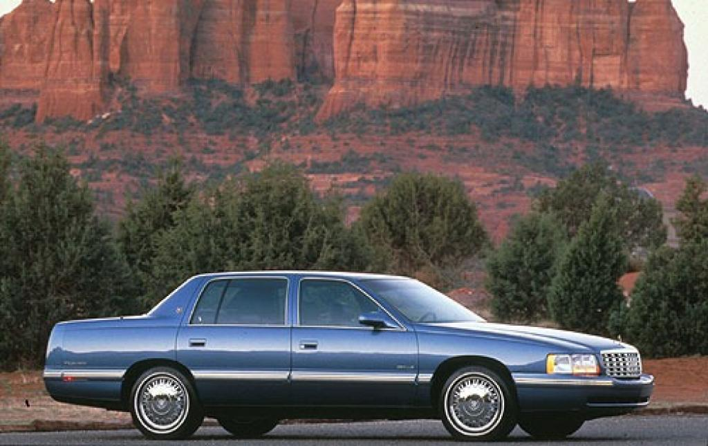 1998 cadillac deville information and photos zombiedrive. Cars Review. Best American Auto & Cars Review