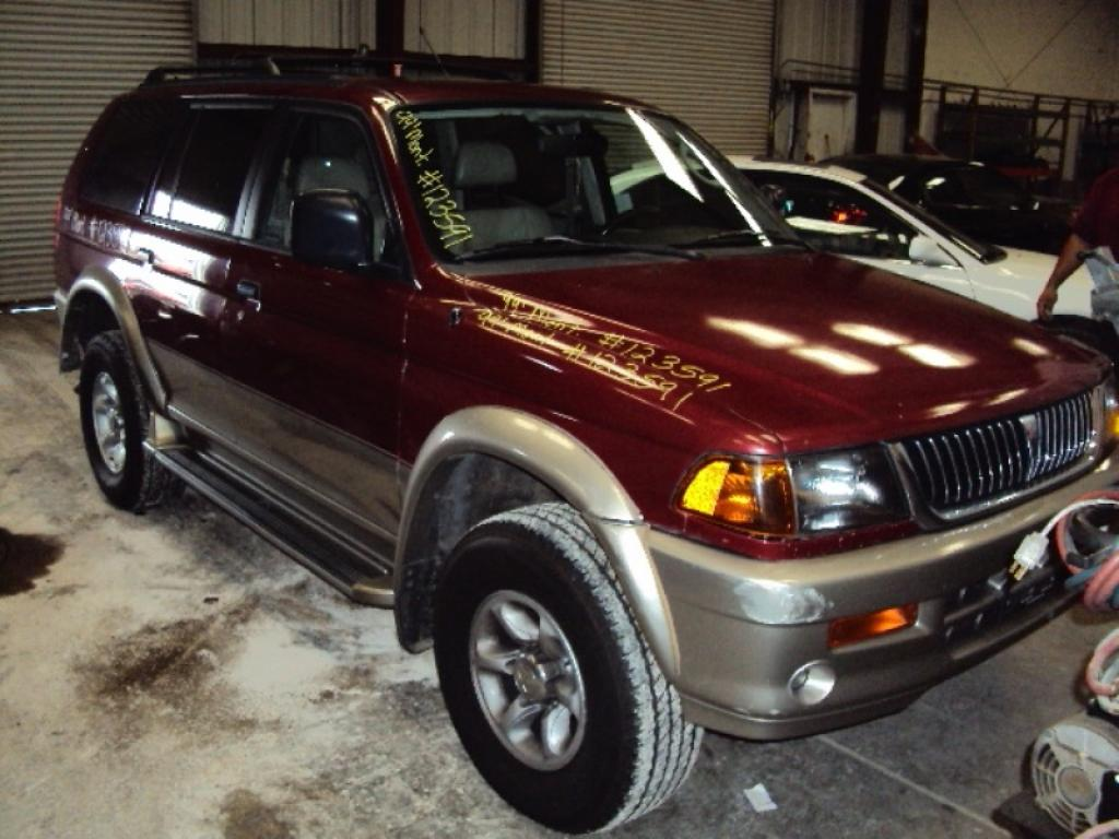 1999 Mitsubishi Montero Information And Photos Zombiedrive