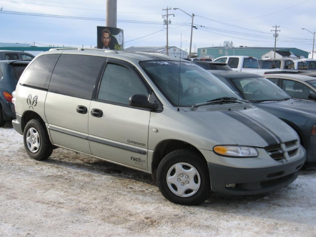 2000 Dodge Caravan Information And Photos Zomb Drive