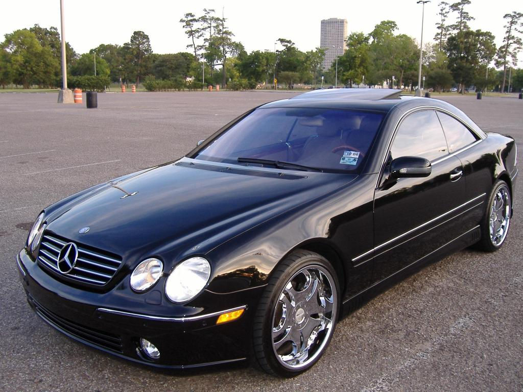2001 mercedes benz cl class information and photos for 2001 mercedes benz