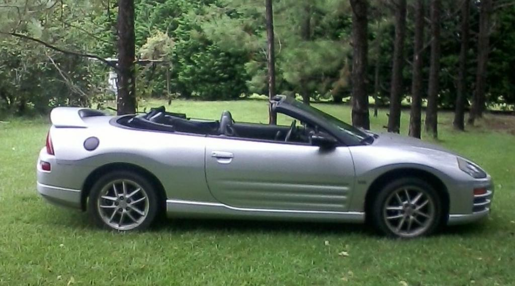 2001 mitsubishi eclipse spyder information and photos zombiedrive. Black Bedroom Furniture Sets. Home Design Ideas