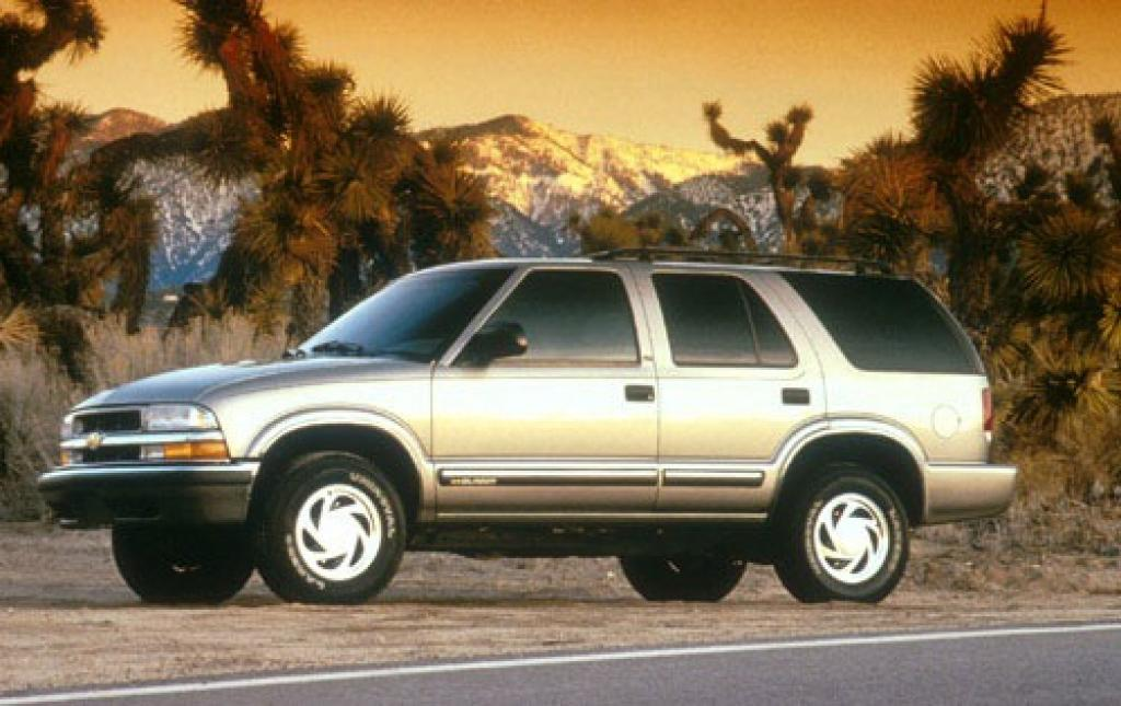 Chevrolet Blazer Dr Suv Lt Fq Oem on 2001 Chevrolet Blazer