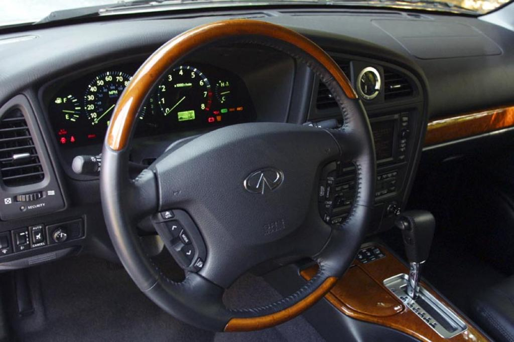 2002 Infiniti Qx4 Information And Photos Zombiedrive