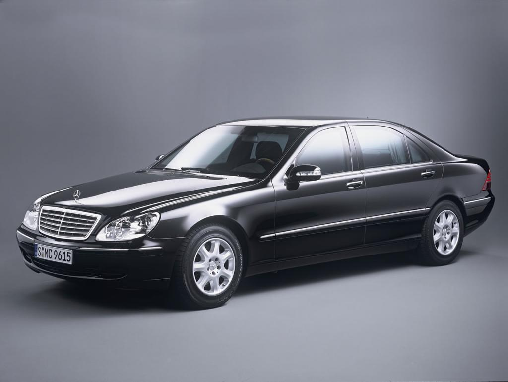 2002 mercedes benz s class information and photos