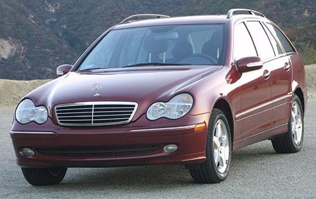 2002 mercedes benz c class information and photos for Mercedes benz sport wagon