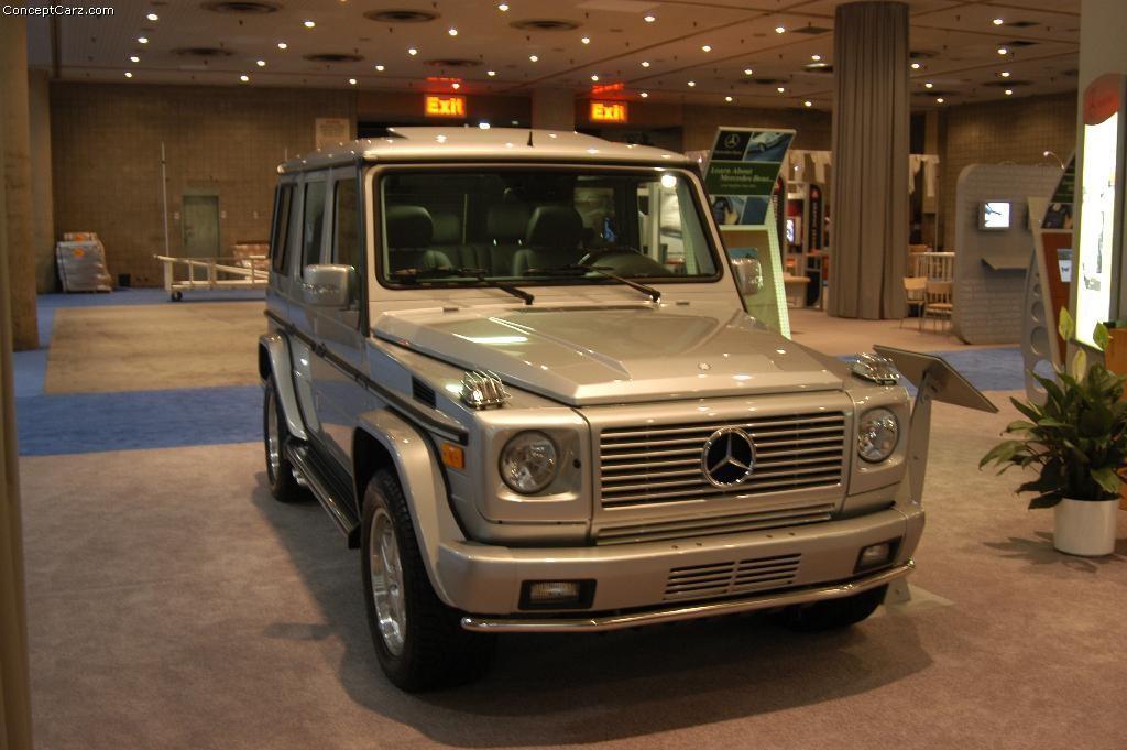2003 Mercedes Benz G Class Information And Photos