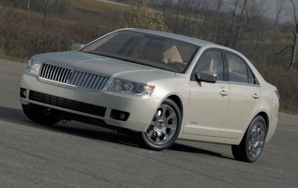 2006 lincoln zephyr information and photos zombiedrive. Black Bedroom Furniture Sets. Home Design Ideas