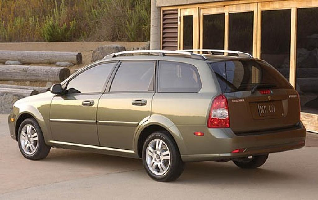 2006 suzuki forenza information and photos zombiedrive. Black Bedroom Furniture Sets. Home Design Ideas