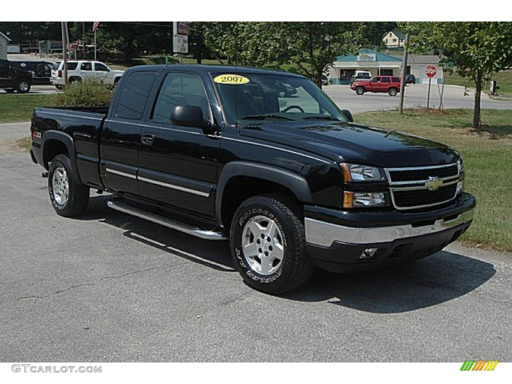 2007 chevrolet silverado 1500 classic information and photos zombiedrive. Black Bedroom Furniture Sets. Home Design Ideas