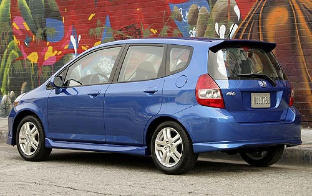 2007 honda fit information and photos zombiedrive. Black Bedroom Furniture Sets. Home Design Ideas