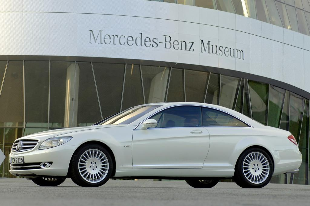 2007 mercedes benz cl class information and photos. Black Bedroom Furniture Sets. Home Design Ideas