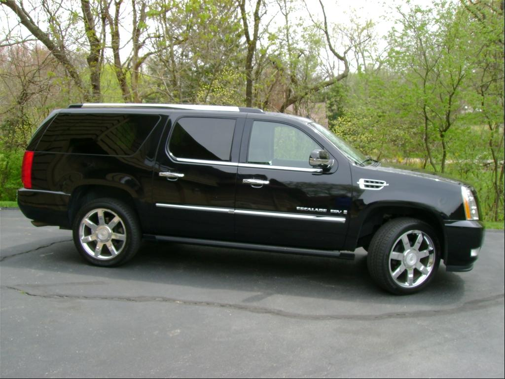 2008 cadillac escalade esv information and photos. Black Bedroom Furniture Sets. Home Design Ideas