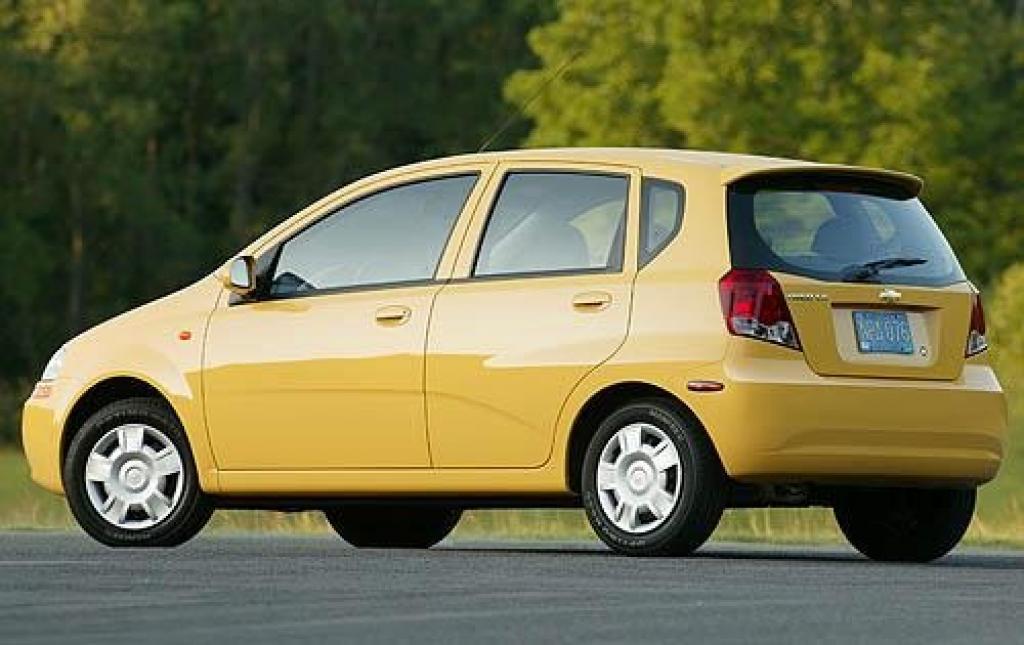 2008 Chevrolet Aveo Information And Photos Zombiedrive