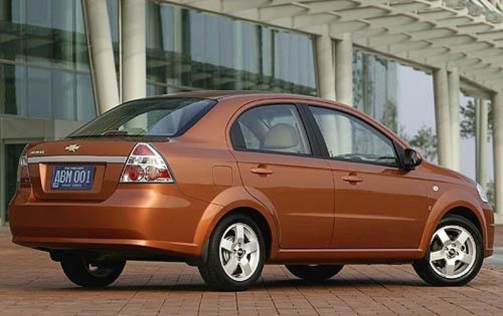 2008 Chevrolet Aveo Information And Photos Zombiedrive