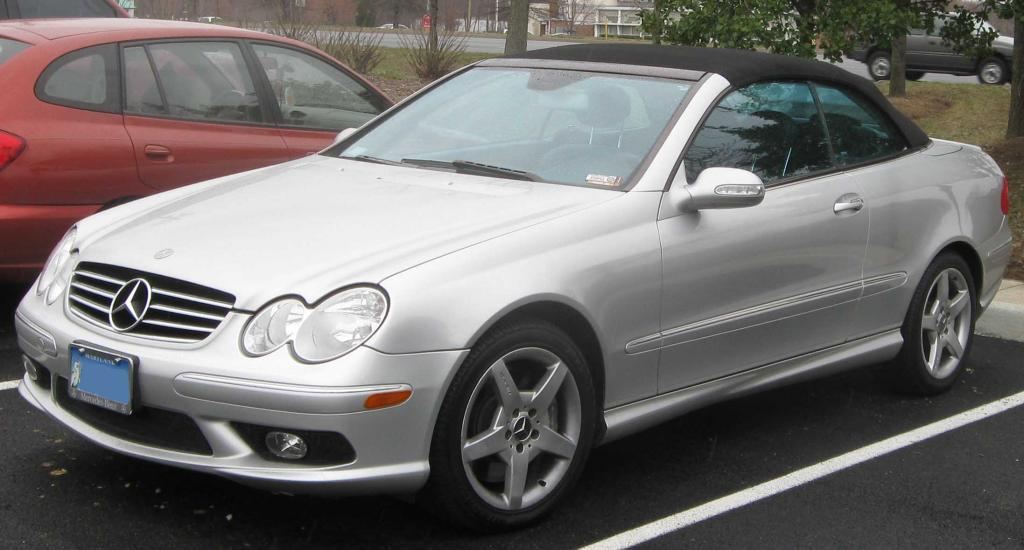 2009 mercedes benz clk class information and photos for Mercedes benz clk 2009