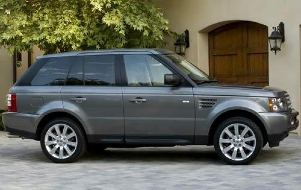 2009 land rover range rover sport information and photos zombiedrive. Black Bedroom Furniture Sets. Home Design Ideas