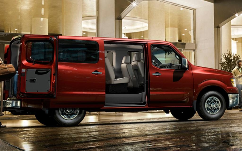2012 Nissan Nv Passenger Information And Photos Zombiedrive