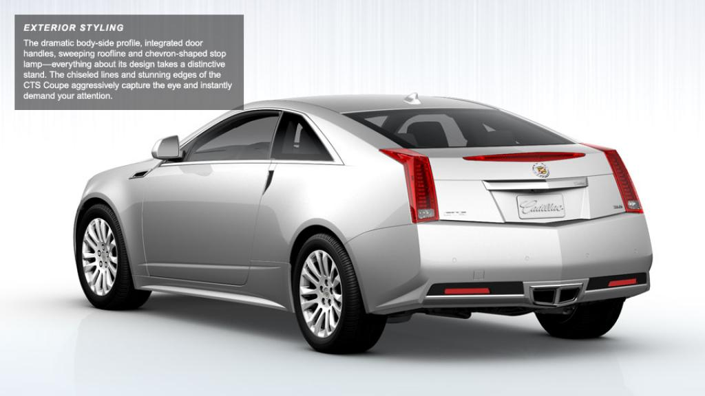 2013 cadillac cts coupe information and photos zombiedrive. Cars Review. Best American Auto & Cars Review