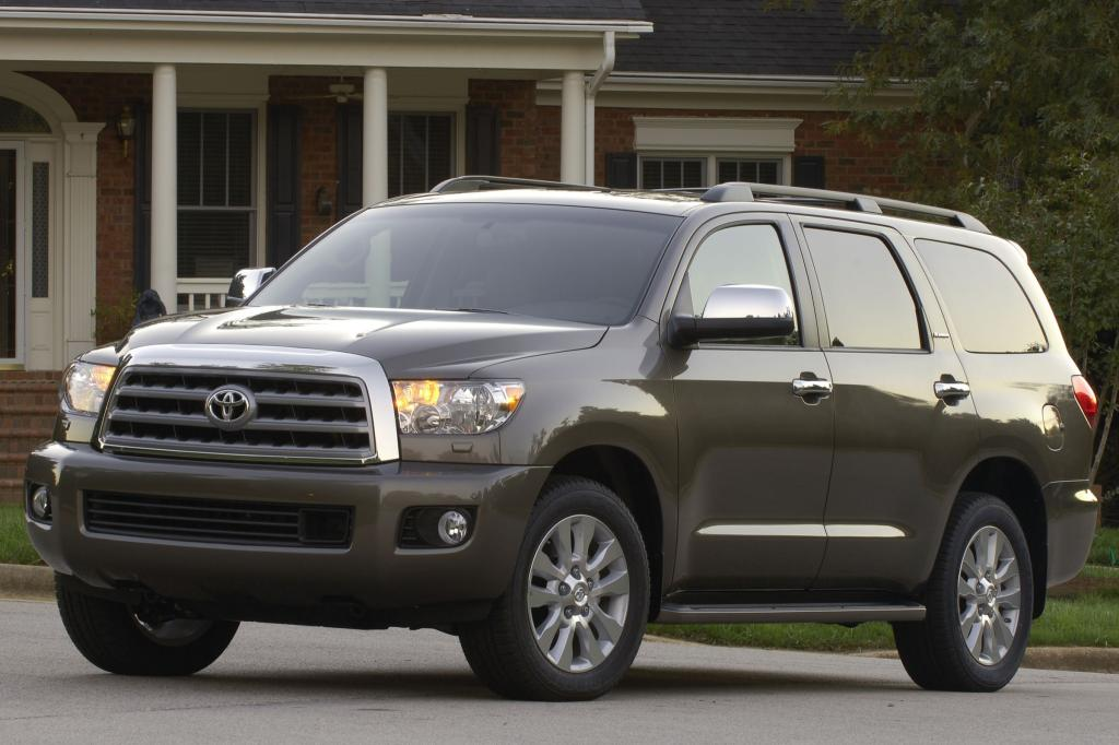 2014 Toyota Sequoia  Information and photos  ZombieDrive