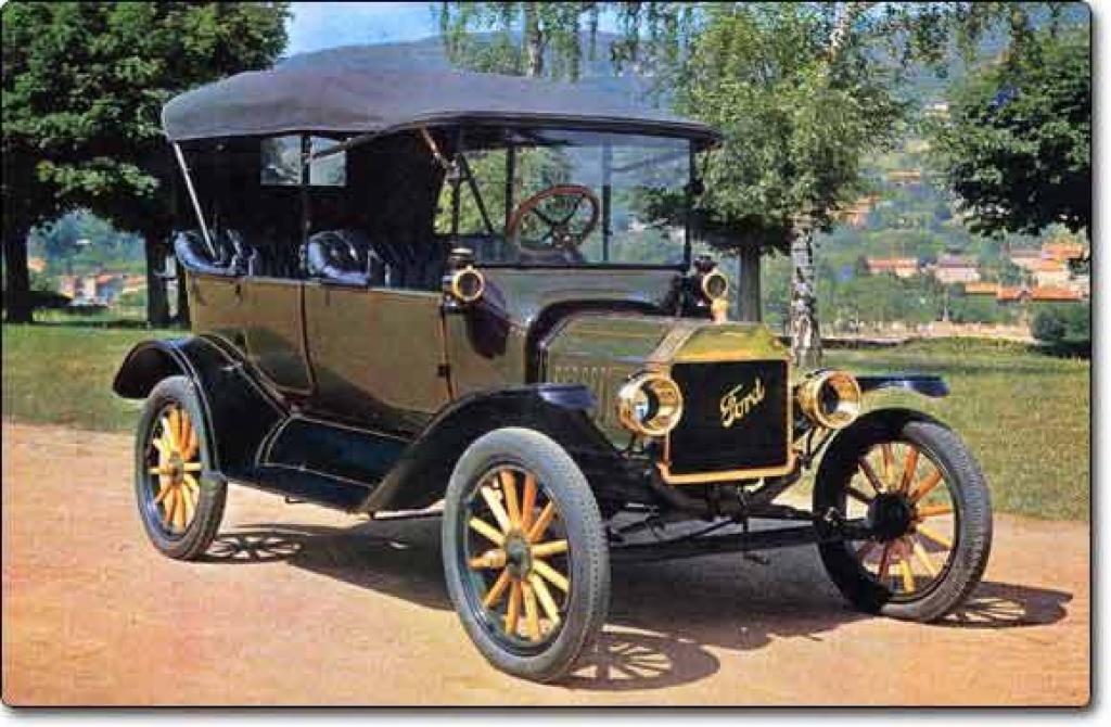 первый автомобиль форд #8