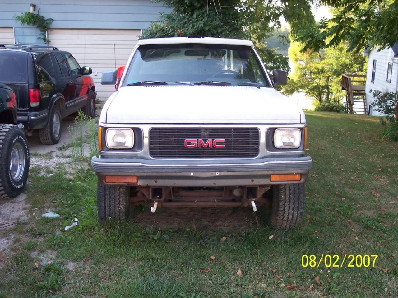 1991 gmc sonoma information and photos zombiedrive