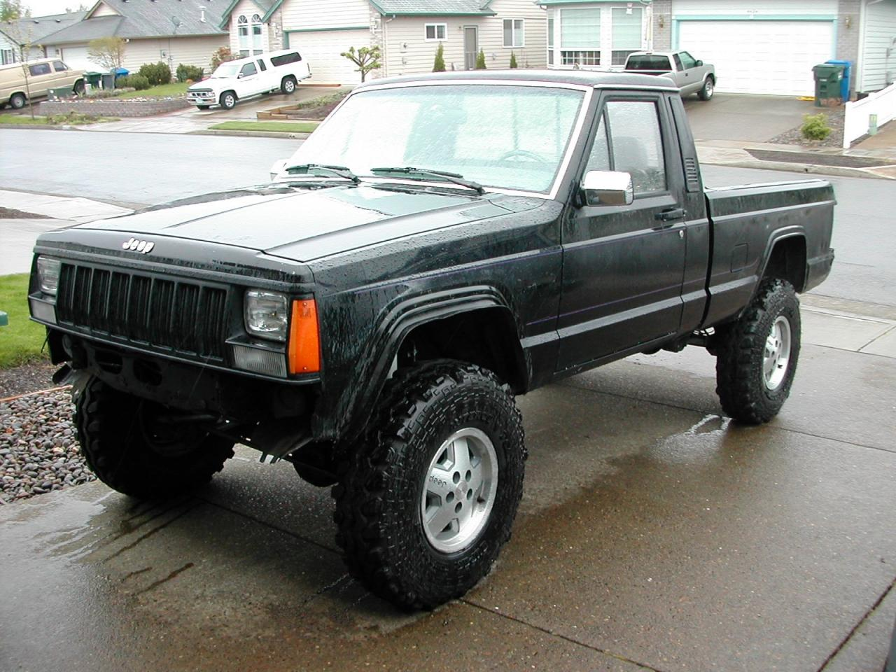 1992 Jeep Comanche - Information and photos - ZombieDrive