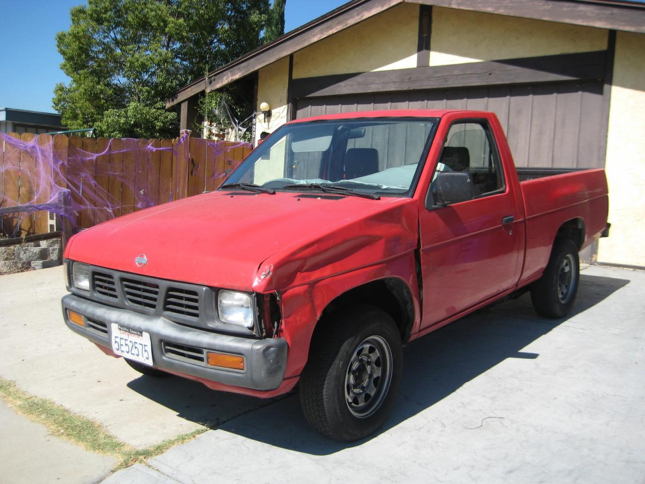 1992 Nissan Truck Information And Photos Zombiedrive