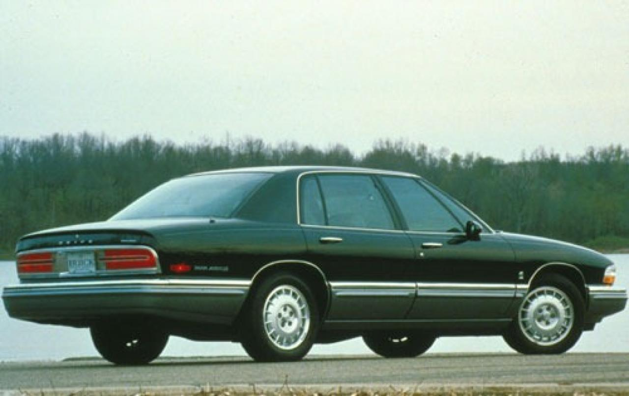 1996 buick park avenue information and photos zombiedrive. Black Bedroom Furniture Sets. Home Design Ideas