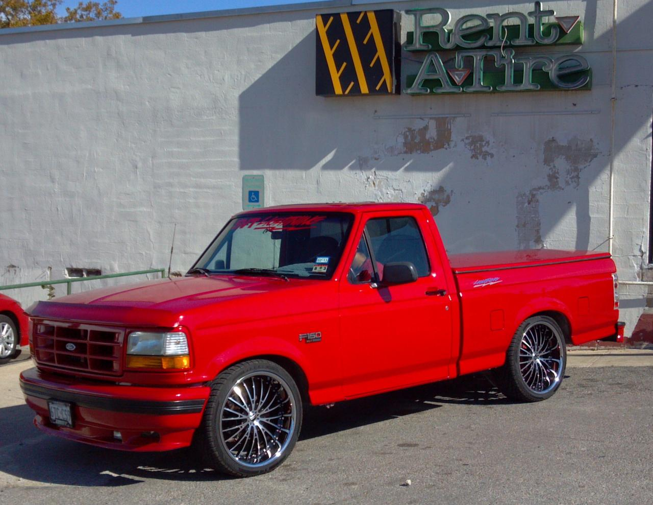 1993 ford f 150 svt lightning information and photos zombiedrive. Black Bedroom Furniture Sets. Home Design Ideas
