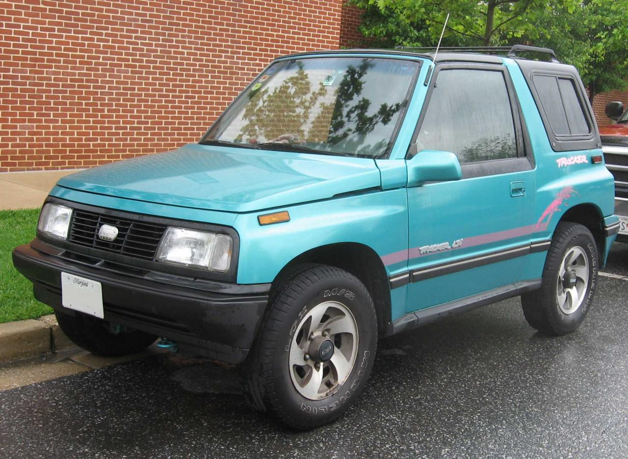 1993 geo tracker information and photos zombiedrive - Tacker fur polstermobel ...
