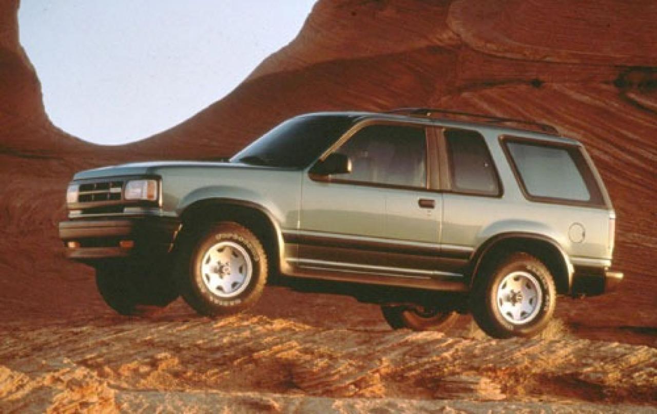 1994 Mazda Navajo - Information And Photos