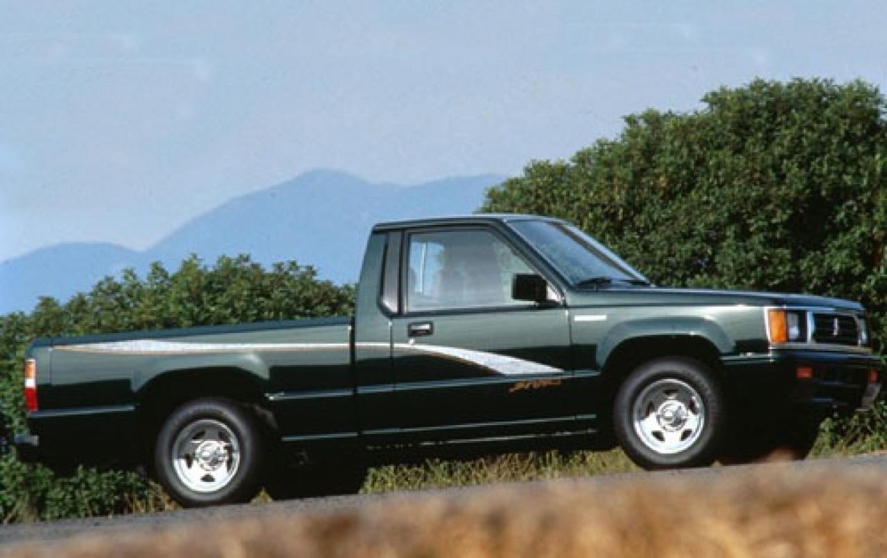 1993 mitsubishi mighty max pickup information and photos. Black Bedroom Furniture Sets. Home Design Ideas