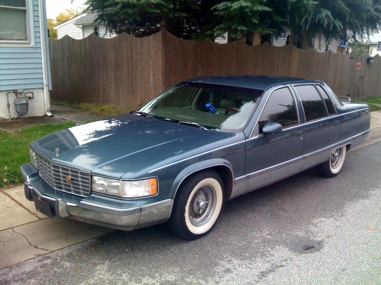 1994 cadillac deville information and photos zombiedrive. Black Bedroom Furniture Sets. Home Design Ideas