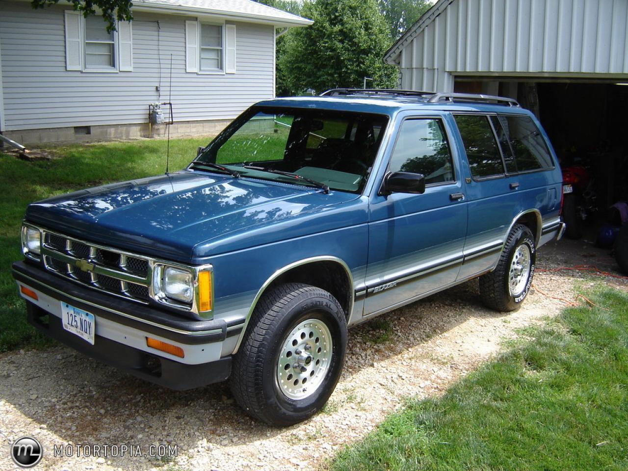 Chevrolet Blazer on 1994 Chevrolet Blazer 4x4