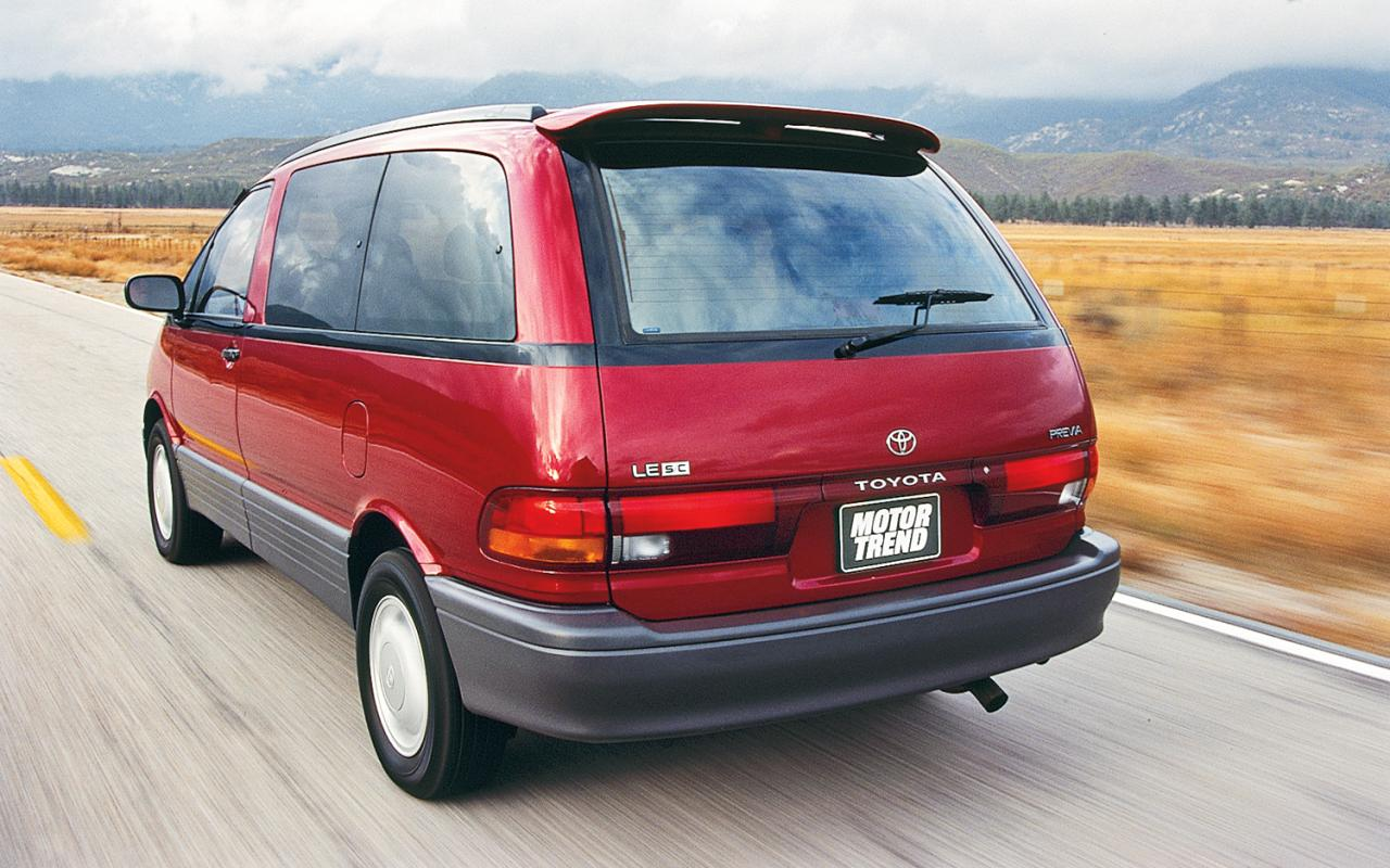 1994 Toyota Previa - Information and photos - ZombieDrive