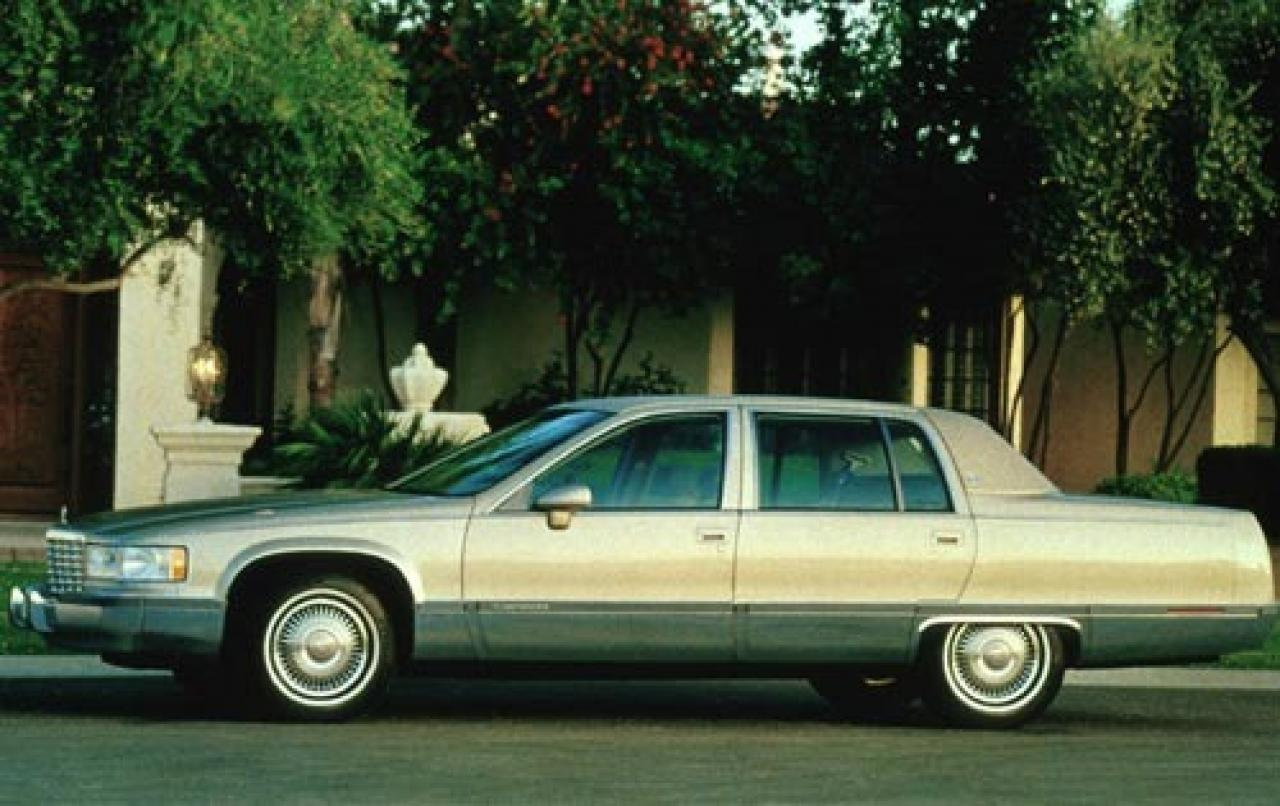 1994 cadillac fleetwood information and photos zombiedrive. Cars Review. Best American Auto & Cars Review
