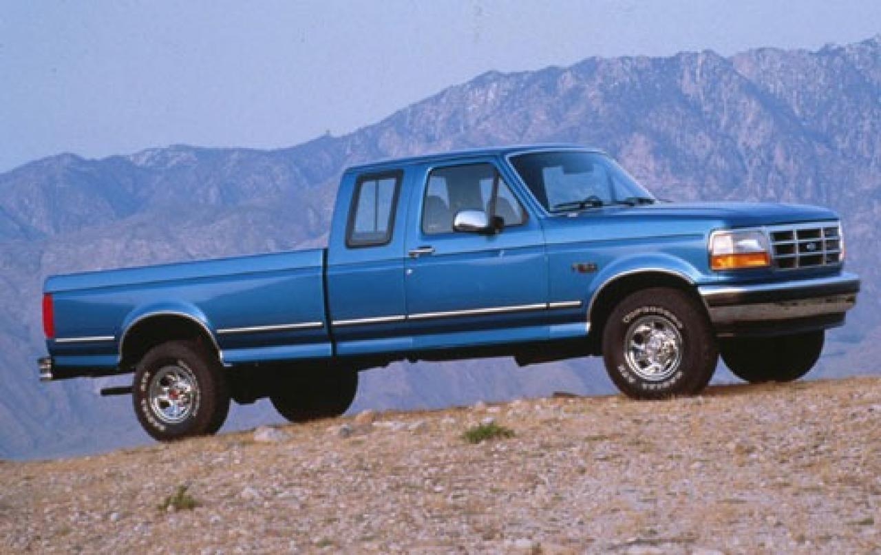 1994 ford f 150 information and photos zombiedrive. Black Bedroom Furniture Sets. Home Design Ideas