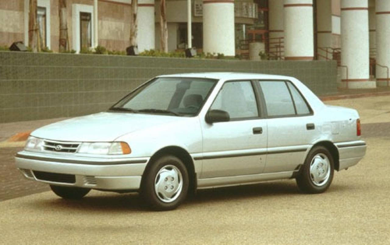 1994 Hyundai Excel - Information And Photos