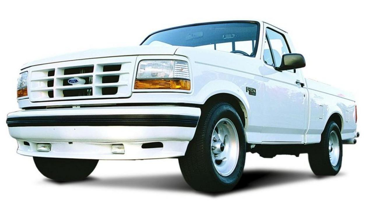 1993 Ford F150 Lightning 1995 Ford F-150 SVT Lightning - Information and photos ...