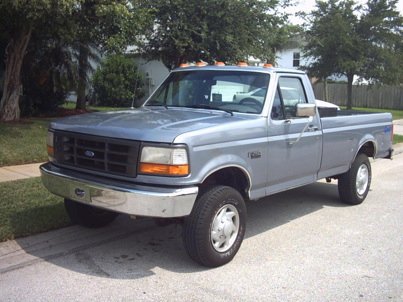 1995 ford f 250 information and photos zombiedrive. Black Bedroom Furniture Sets. Home Design Ideas