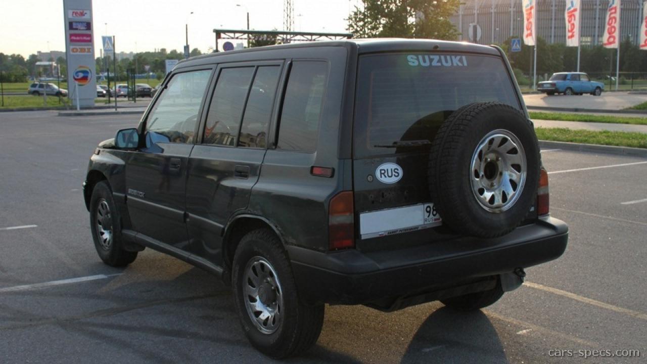 1995 Suzuki Sidekick - Information and photos - ZombieDrive