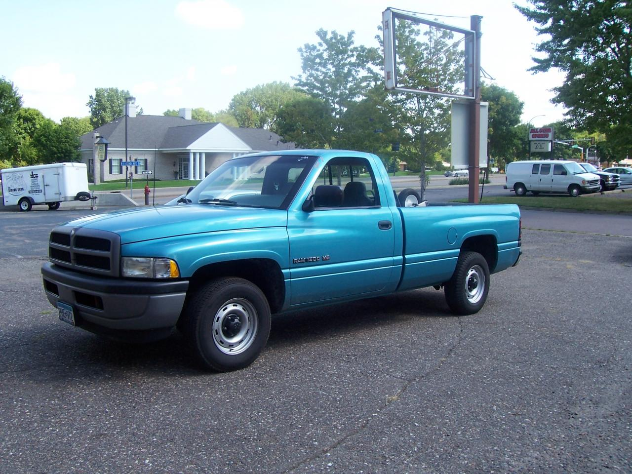 1996 dodge ram pickup 1500 information and photos. Black Bedroom Furniture Sets. Home Design Ideas