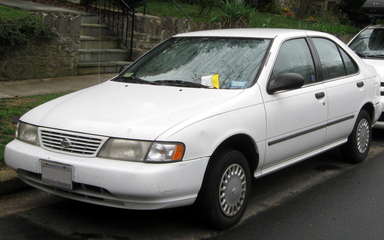 1996 Nissan Sentra Information And Photos Zomb Drive