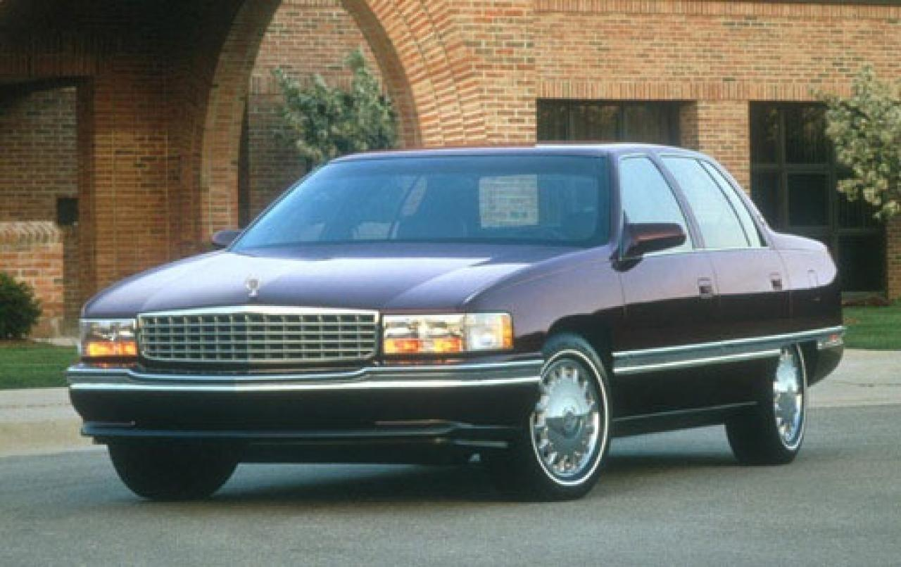 1996 cadillac deville information and photos zombiedrive. Black Bedroom Furniture Sets. Home Design Ideas