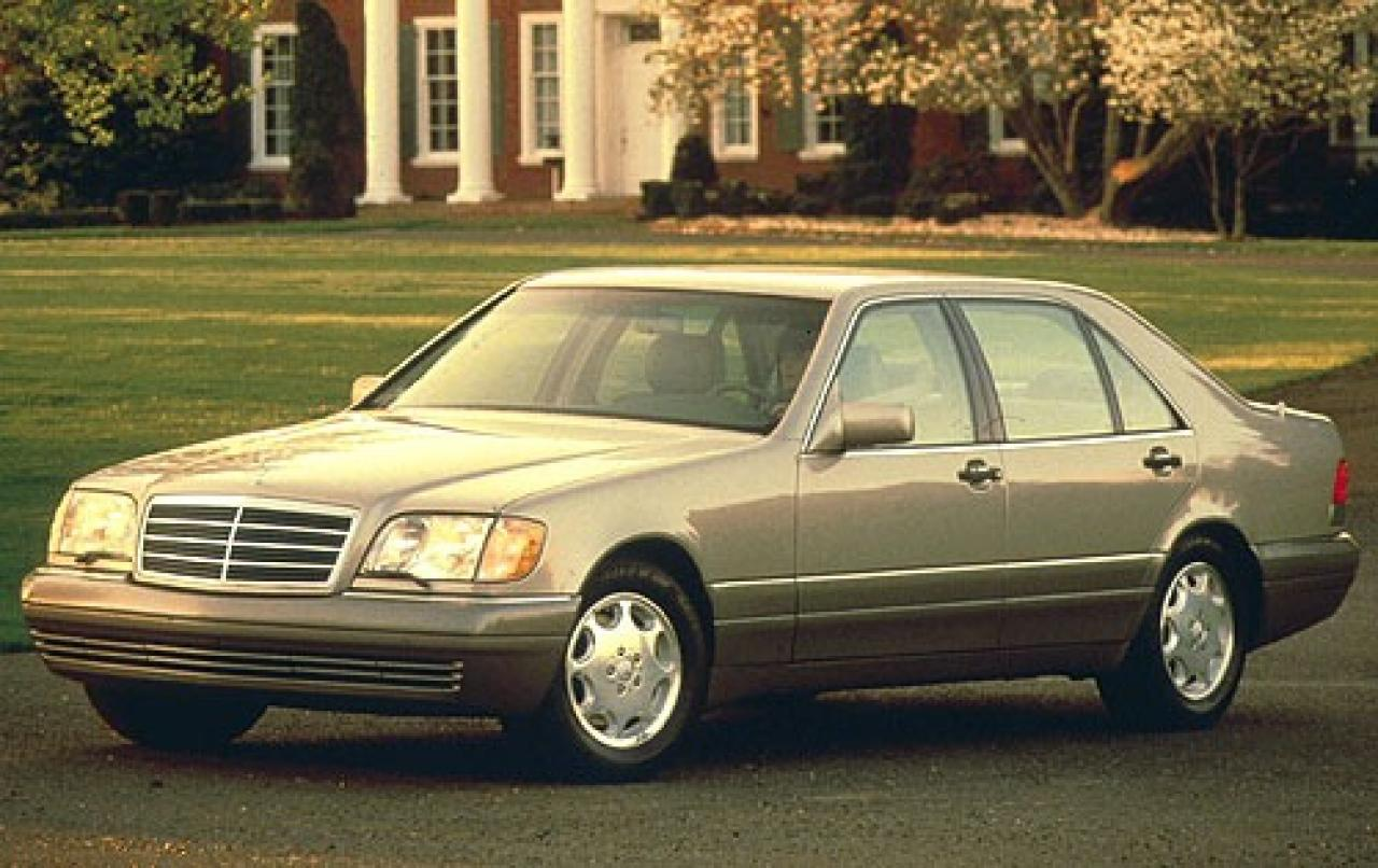 1996 mercedes benz s class information and photos