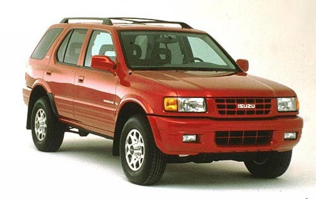 1999 isuzu rodeo information and photos zombiedrive. Black Bedroom Furniture Sets. Home Design Ideas